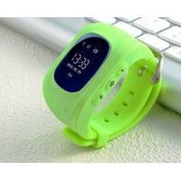 Дитячий розумний годинник Q50 зелений з трекером
