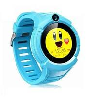 Дитячий годинник Smart Baby Watch T10 з GPS- трекером, камерою і ліхтариком сині