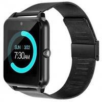 Годинник Smart Watch Phone Z60 чорні на Цьому карту   Камера Новинка!