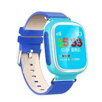 Дитячий Рожевий  годинник з GPS трекером Smart Watch Q80 Сині