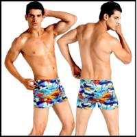 Плавки чоловічі купальні, боягузи-боксери для басейну, пляжу (разноцвентый)