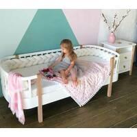 Детская деревянная кроватка Скандия