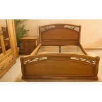 Ліжко Роксолана з дуба
