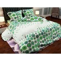 Двоспальний євро комплект постільної білизни