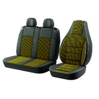 "Авточохол для мікроавтобусів ""Пілот BUS"" 2 1 на Volkswagen Caravelle Жовтий"