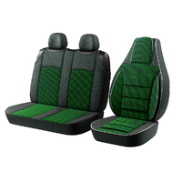 "Авточохол для мікроавтобусів ""Пілот BUS"" 2 1 на Volkswagen Caravelle Зелений"