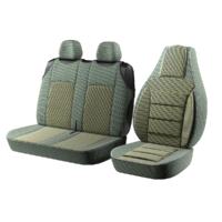 """Авточохол для мікроавтобусів """"Пілот BUS"""" 2 1 на Volkswagen LT Бежевий"""
