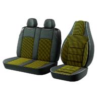 """Авточохол для мікроавтобусів """"Пілот BUS"""" 2 1 на Volkswagen LT Жовтий"""