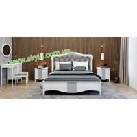 Спальний комплект Софія з масиву ясеня