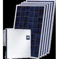 Мережева сонячна електростанція 30 кВт на СБ AEG AS-M728-370