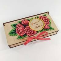 Коробочка - конверт для грошей (для вишивки бісером)