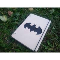 """Блокнот """"Бетмен. Лого"""" из дерева"""