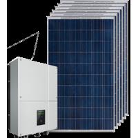 Сетевая солнечная электростанция 20 кВт на СБ Longi Solar LR6-72PE-435M