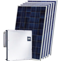 Мережева сонячна електростанція 30 кВт на СБ Trina Solar TSM-445M