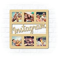 """Деревянная рамка для фото """"Instagram"""""""