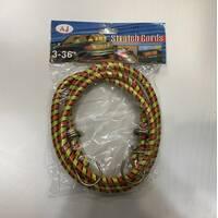 Гумка багажна Stretch Cords 3-36 / 1м / Р1