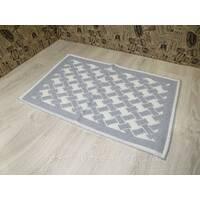 Турецкий коврик для ванной и туалета размер 50х80 из хлопка.