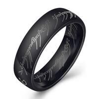 Кольцо Abbelin черное K093A, 6 размер
