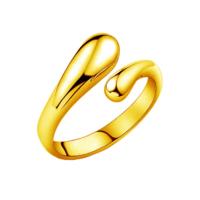 Кольцо Abbelin золотистое K266, размер Uni