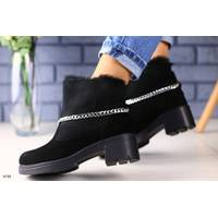 Женские ботинки на меху 36