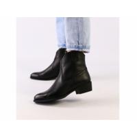 Женские черные демисезонные ботинки кожа флотар 39