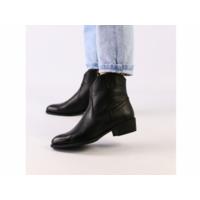Женские черные демисезонные ботинки кожа флотар 40