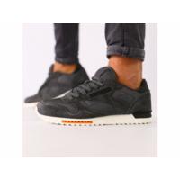 Мужские темно-серые замшевые кроссовки с черными кожаными вставками 44