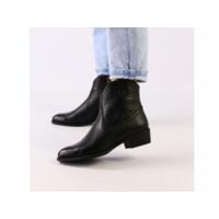 Женские черные демисезонные ботинки кожа флотар 36