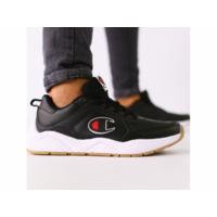 Мужские черные кожаные кроссовки 42