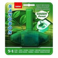 Блок для унитаза освежающий Sanobon Green до 800 сливов 55 гр.