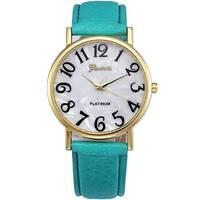 Часы GENEVA зеленые W299