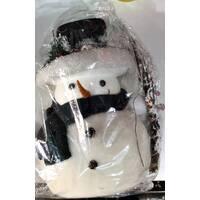 Снеговик под елку большой ручной работы