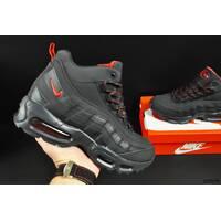 ботинки Nike Air Max 95 арт 20676 (зимние, мужские, синие)