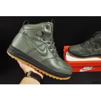 ботинки Nike Lunar Force 1 арт 20665 (зимние, найк, хаки)
