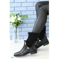 Женские ботинки с носком 40