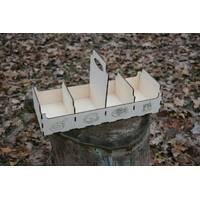 Ящик для спецій з дерева