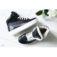 Женские зимние ботинки на шнурках 37