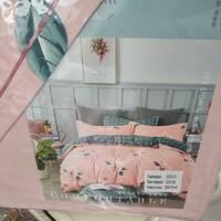 Двоспальний  фланелевий комплект постільної білизни