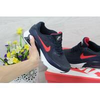 Женские кроссовки Nike Ultra Moire темно синие с красным 4000