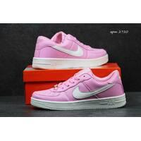Женские кроссовки Nike Air Force розовые 2720