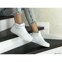 Кроссовки подростковые белые Nike Air Force 8444