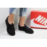 Кроссовки женские черные Nike Free ran 3.0 5393