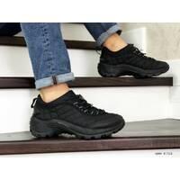 Мужские термо кроссовки черные Merrell 8752