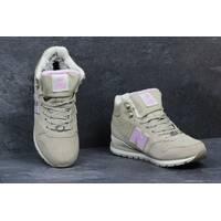 Подростковые зимние кроссовки New Balance 696 Revlite бежевые 3561