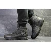 Мужские черные ботинки на зиму Columbia 6563