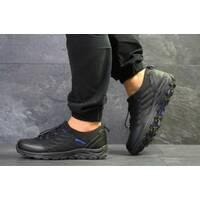 Мужские кроссовки черные с синим Merrell 6535