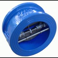 Клапан двохстворчатий чавунний, Py16, ДУ50 NEP Клапан двохстворчатий чавунний, Py16, ДУ50