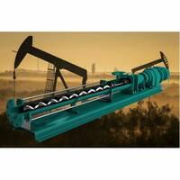 NEP Горизонтальный одновинтовой насос 6 бар, 15 м3/ч, 5.5 кВт