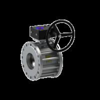Кран кульової 11с342п з редуктором DN 150/100 BREEZE 11с342п з редуктором DN 150/100