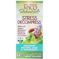 Fungi Perfecti, Host Defense, MycoBotanicals, Stress Decompress, 60 Vegetarian Capsules